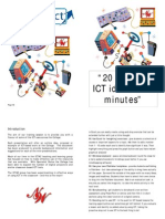 20 ideas in 20 minutes - using ICT in the classroomBooklet