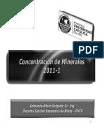 Introducción a la Concentración de Minerales