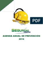 Agenda de Prevención Ssoma 2016 Latinoamerica