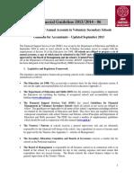 Financial Guideline 06 2013