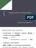 Remoción de Nitrógeno (1)