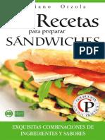 Recetas Para Sandwiches