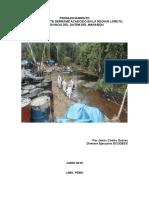 Pronunciamiento Por Los Derrames de Crudo en La Amazonia