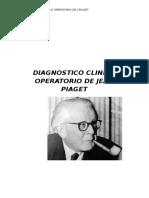 Diagnostico Clinico Operatorio de Jean Piaget Practico 4 Año