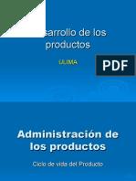 Clase 09 Desarrollo de Productos 2015