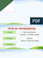 Tipos de tratamientos de información