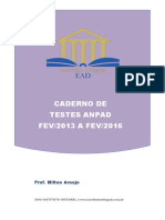Caderno ANPAD FEV 2013 a FEV 2016