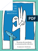 Manual de discurso político. Técnicas de escritura y comunicación efectiva