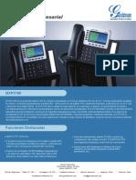 Gxp2160 Datasheet Spanish