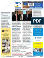 Pharmacy Daily for Tue 28 Jun 2016 - Guild seals MoU with China, Mayne buys US generics, New professional indemnity standard, Guild Update and much more