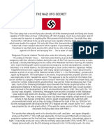 The Nazi Ufo Secret