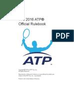 2016 Atp Rulebook 12apr16