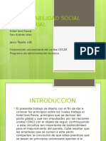 Responsabilidad Social Empresarial Power Point