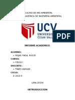 Facultad de Ing Ambiental