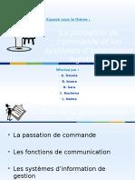 La Passation de Commande Et Les Systèmes D'information Logistiques