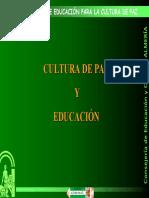 Cultura de Paz y Educación