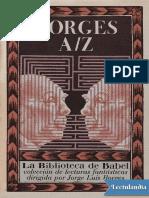 Borges AZ - Antonio Fernandez Ferrer
