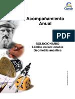 Solucionario Lámina Geometría Análitica 2014
