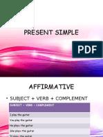Present Simple Resumen de Todo y Ejercicios