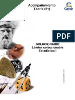 Solucionario Lámina Estadística I 2014