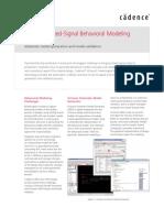 Virtuoso MS Behavioral Modeling DS