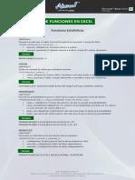 Calculos de Funciones en Excel 2