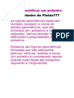 Como identificar um poliedro como poliedro de Platão.docx