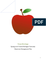 classroom management plan 2016