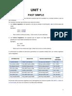 Folleto Gramatical 4to Nivel Agosto 2013