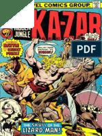 Ka-Zar 13 Vol 1