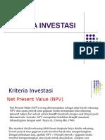 Kriteria-Investasi