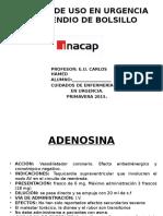Compendio de Bolsillo Medicamentos de Uso en Urgencia.