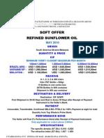 Soft Offer Sunflower Oil-may10