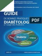Guide de Diabète Algérie 2015