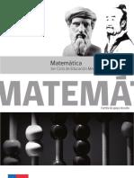 Cartilla de Matematica Adultos