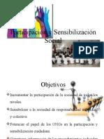 Participación y Sensibilización Social