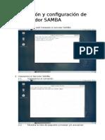 2. Instalación y Configuración de Un Servidor SAMBA