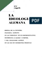 Marx, K_(1958)_La Ideología Alemana - Feuerbach