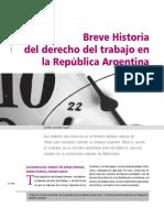 Topet Breve Historia Del Derecho Del Trabajo en La Republica Argentina