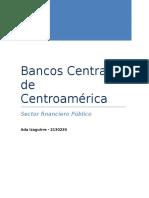 Bancos Centrales de Centroamérica