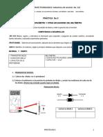 Practica No 5. Capacimetro y Otras Aplicaciones Del Multímetro