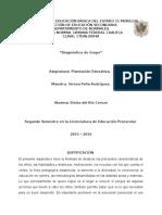 Planeacion Educativa Diagnostico, Descripcion de Contextos y Secuencia