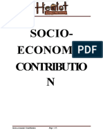 7 Socio-economic Contrbution