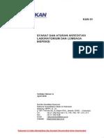 KAN 01 Syarat Dan Aturan Akreditasi Laboratorium Dan Lembaga Inspeksi (in)
