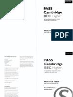 Pass Cambridge Bec Higher Self-tudy Pract
