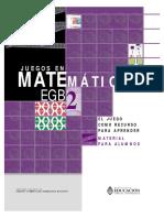 Juegos en Matemática EGB 2_ Alumnos