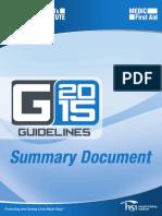 Cambios en Las Guías 2015 ASHI