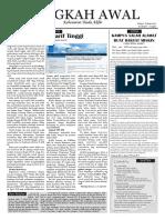 Edisi 02 (21 Maret - 3 April 2011) Jejak Awal