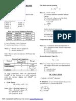 ELECTRONICS Formulas and Concepts jc