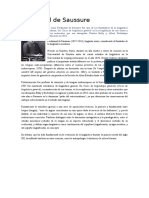 Ferdinand de Saussure y Charles S. Peirce
